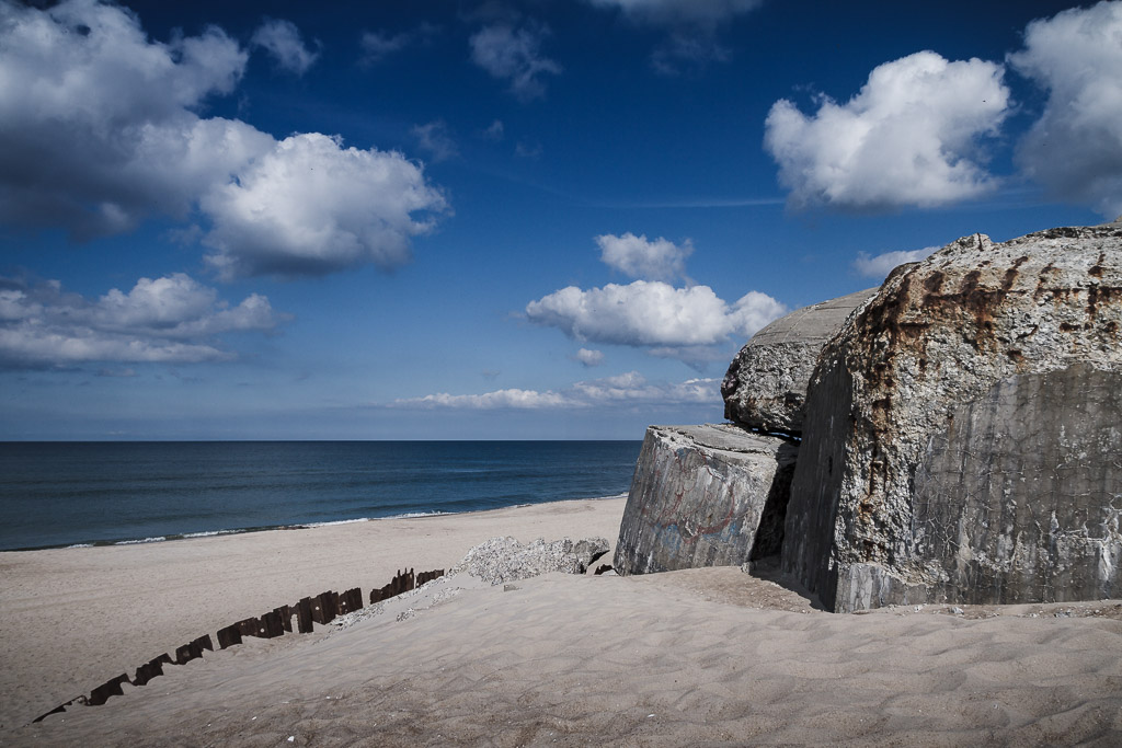 Atlantikwall Bunker Nr0 in Dänemark