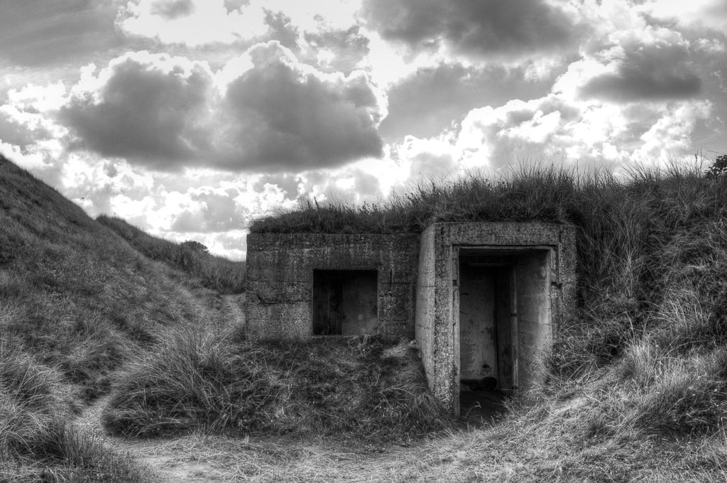 Atlantikwall Bunker Nr3 in Dänemark