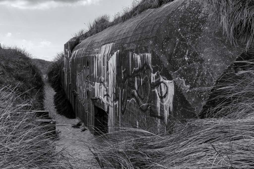 Atlantikwall Bunker Nr6 in Dänemark