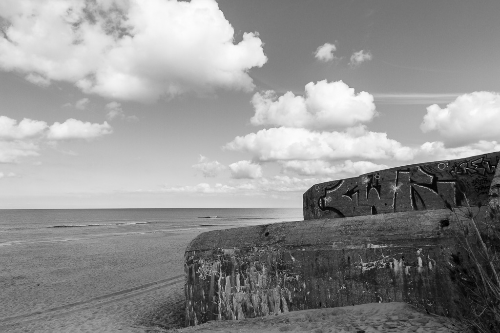 Atlantikwall Bunker Nr7 in Dänemark