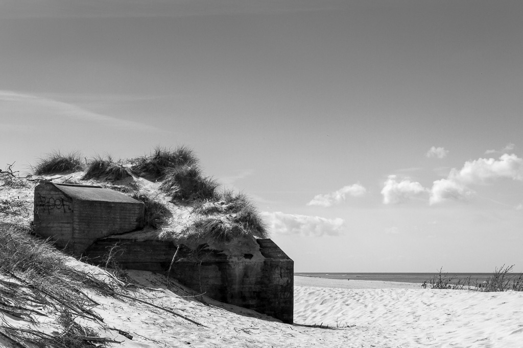 Atlantikwall Bunker Nr21 in Dänemark